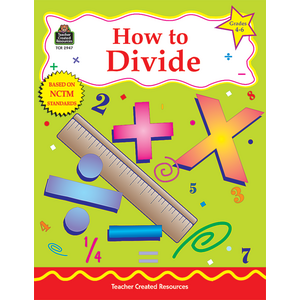 TCR2947 How to Divide, Grades 4-6 Image
