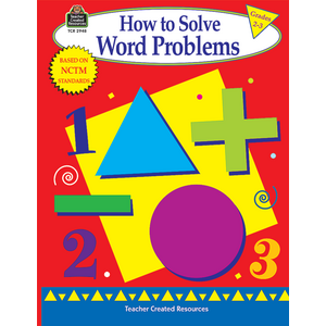TCR2948 How to Solve Word Problems, Grades 2-3 Image