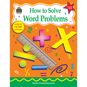 TCR2949 How to Solve Word Problems, Grades 4-5 Image