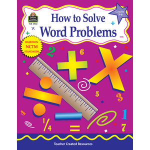 TCR2950 How to Solve Word Problems, Grades 5-6 Image