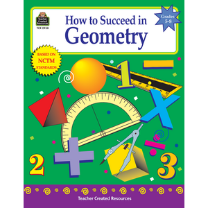 TCR2958 How to Succeed in Geometry, Grades 5-8 Image