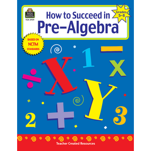 TCR2959 How to Succeed in Pre-Algebra, Grades 5-8 Image