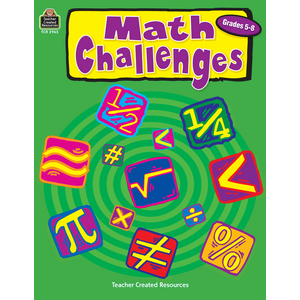 TCR2965 Math Challenges, Grades 5-8 Image