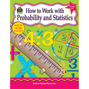 TCR2968 How to Work With Probability and Statistics, Grades 6-8 Image