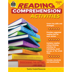TCR2981 Reading Comprehension Activities Grade 5-6 Image