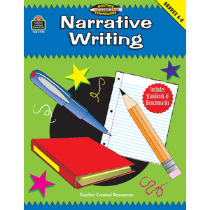 TCR2994 Narrative Writing, Grades 6-8 (Meeting Writing Standards Series) Image