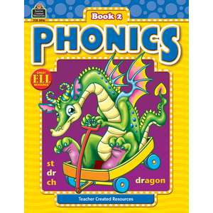 TCR3016 Phonics Book 2 Image