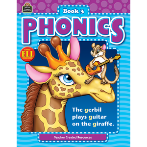 TCR3017 Phonics Book 3 Image