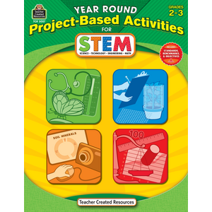 TCR3027 Year Round Project-Based Activities for STEM Grade 2-3 Image