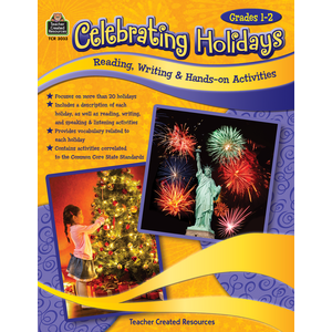 TCR3033 Celebrating Holidays: Reading, Writing & Hands-on Activities Image
