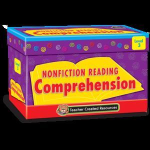 Nonfiction Reading Comprehension Cards Level 3