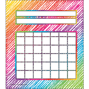 TCR3072 Colorful Scribble Incentive Charts Pack Image