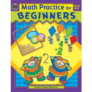 TCR3115 Math Practice for Beginners Image