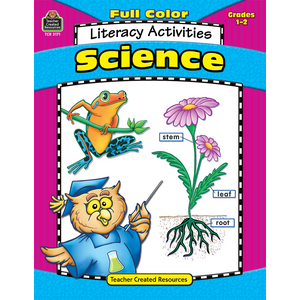 TCR3171 Full-Color Science Literacy Activities Image