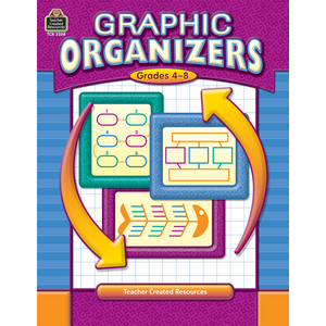 TCR3208 Graphic Organizers, Grades 4-8 Image