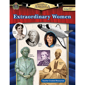 TCR3209 Spotlight On America: Extraordinary Women Image