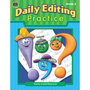 TCR3222 Daily Editing Practice, Grade 2 Image