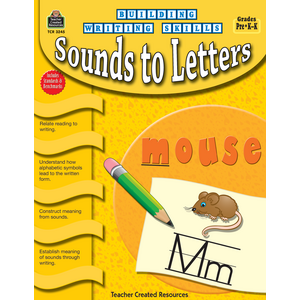 TCR3245 Building Writing Skills: Sounds to Letters Image