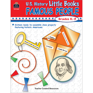 TCR3260 U.S. History Little Books: Famous People Image