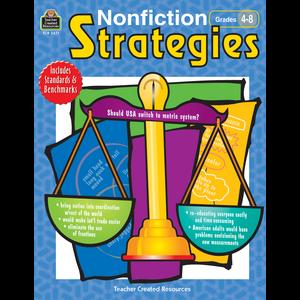 TCR3271 Nonfiction Strategies Grades 4-8 Image