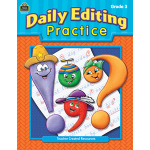 TCR3278 Daily Editing Practice, Grade 3 Image