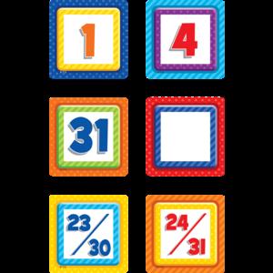 TCR3299 Playful Patterns Calendar Days Image