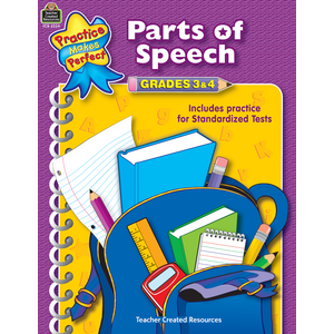 TCR3339 Parts of Speech Grades 3-4 Image