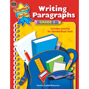TCR3341 Writing Paragraphs Grade 2 Image