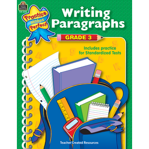 TCR3342 Writing Paragraphs Grade 3 Image