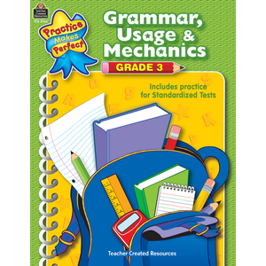 TCR3346 Grammar, Usage & Mechanics Grade 3 Image