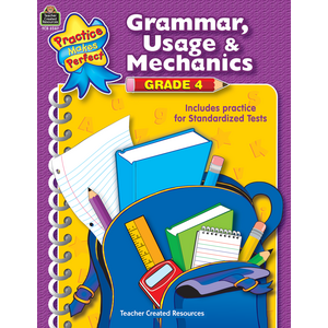 TCR3347 Grammar, Usage & Mechanics Grade 4 Image