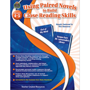 TCR3350 Using Paired Novels to Build Close Reading Skills Grades 4-5 Image