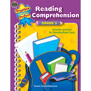 TCR3366 Reading Comprehension Grade 5 Image