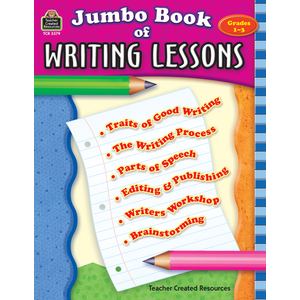 TCR3379 8umbo Book of Writing Lessons Image