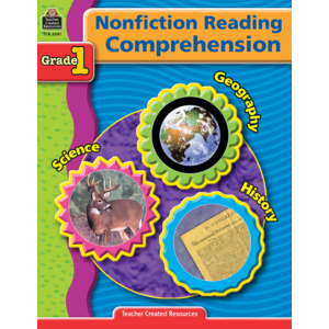 TCR3381 Nonfiction Reading Comprehension Grade 1 Image