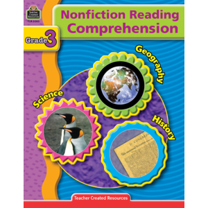 TCR3383 Nonfiction Reading Comprehension Grade 3 Image