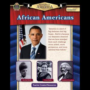 TCR3395 Spotlight On America: African Americans Grade 5-8 Image