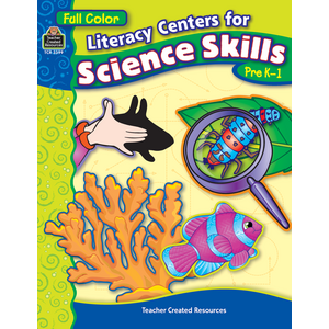 TCR3399 Literacy Centers for Science Skills Image