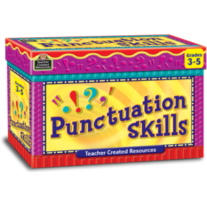 TCR3432 Punctuation Skills Cards Image