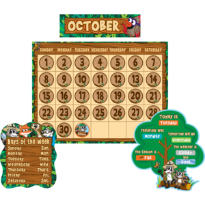 TCR3458 Ranger Rick Calendar Bulletin Board Image