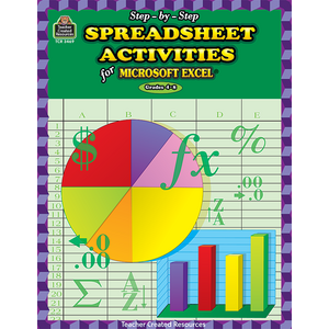 TCR3469 Step-by-Step Spreadsheet Activities for Excel(R) Image