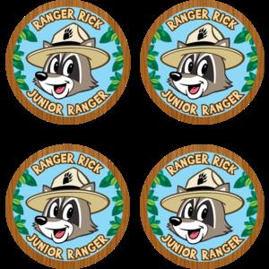 TCR3474 Ranger Rick Wear 'Em Badges Image