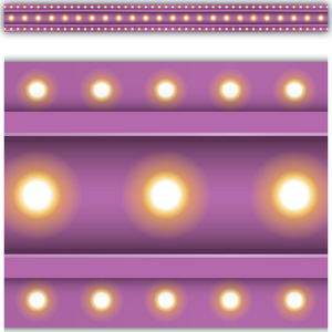 TCR3478 Purple Marquee Straight Border Trim Image