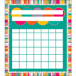 TCR3482 Tropical Punch Incentive Charts Image