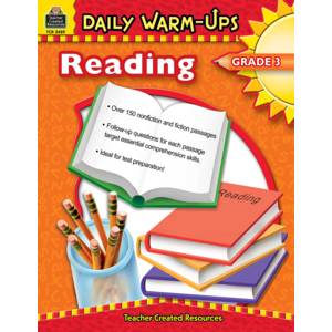 TCR3489 Daily Warm-Ups: Reading, Grade 3 Image