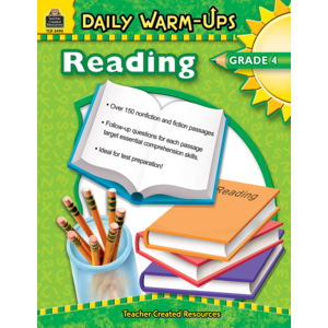 TCR3490 Daily Warm-Ups: Reading, Grade 4 Image