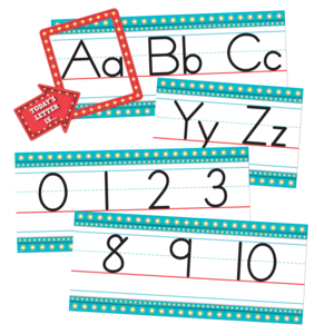 TCR3548 Marquee Alphabet Line Bulletin Board Display Set Image