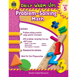 TCR3579 Daily Warm-Ups: Problem Solving Math Grade 5 Image