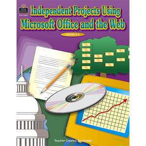 TCR3582 Independent Projects Using Microsoft Office(R) and the Web Image