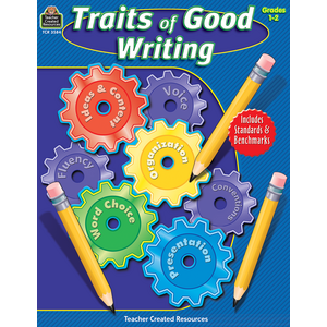 TCR3584 Traits of Good Writing, Grades 1-2 Image